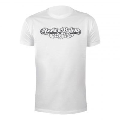 T-shirt Rock'a'bylette La Bécanerie blanc