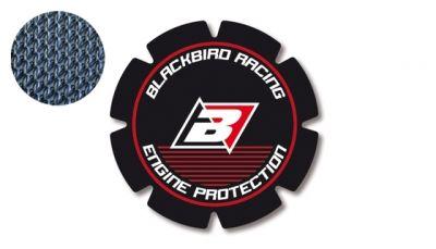 Stickers de couvercle d'embrayage Blackbird Honda CRF 250R 04-17 rouge/noir