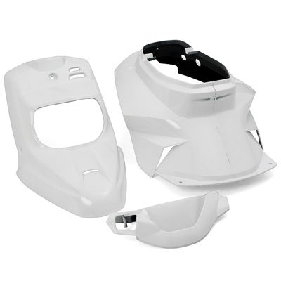 Kit carrosserie Replay design 4 pièces blanc pour Booster spirit/BW's original