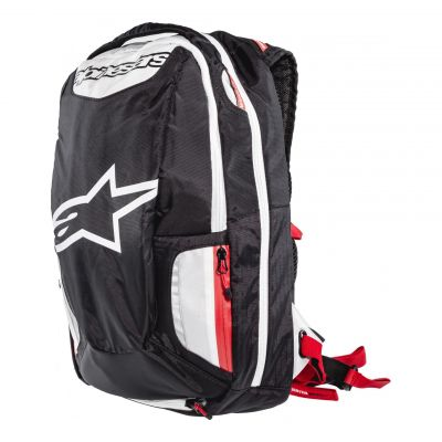 Sac à dos Alpinestars CITY HUNTER noir/blanc/rouge