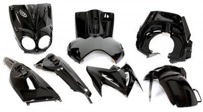 Kit Habillage Stunt 2004> Noir + Autocollants Monster