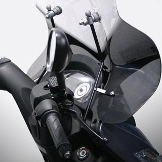 bulle pour scooter accessoires car nage scooter sur la b canerie. Black Bedroom Furniture Sets. Home Design Ideas