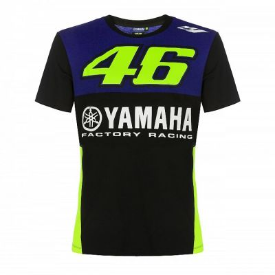 Tee-shirt VR46 Valentino Rossi Yamaha Dual Racing 2019