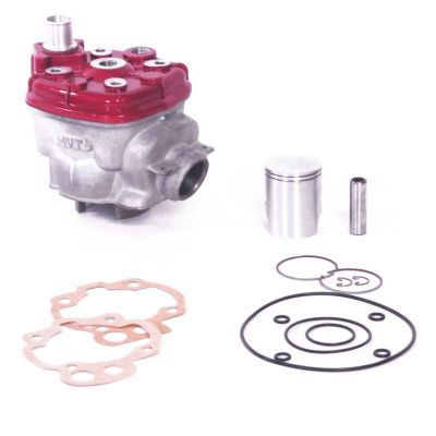 Cylindre Culasse D.40 MVT Iron Max Fonte Minarelli AM6 50cc
