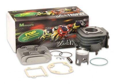 Cylindre Culasse Top Performances Black Trophy 50cc MBK Booster, Yamaha Bw's