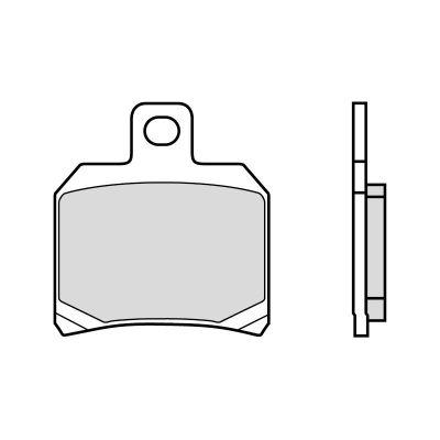 Plaquettes de frein Brembo 07004CC carbone céramique arrière
