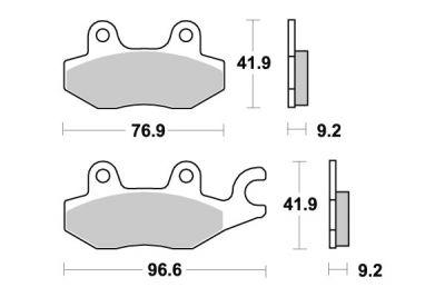 plaquettes de frein brembo carbone c ramique 07ho4008 pi ces freinage sur la b canerie. Black Bedroom Furniture Sets. Home Design Ideas