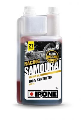 Huile moteur 2T Ipone Samouraï Racing 1l