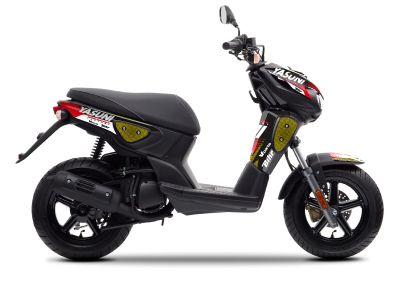 Kit déco Kutvek Yasuni Factory MBK 50 Stunt rouge/noir