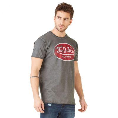 Tee-shirt Von Dutch Aaron'19 Gris