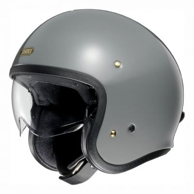 Casque jet Shoei J.O rat grey