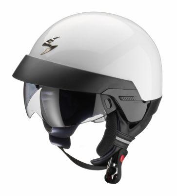Casque jet Scorpion EXO 100 Blanc