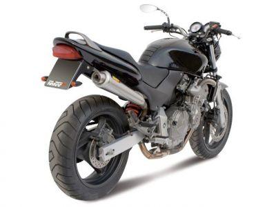 Silencieux MIVV X-Cone inox brossé Honda CB600F Hornet 98-00