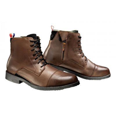 Chaussures moto Ixon Greenwich marron