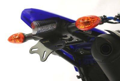 Support de plaque d'immatriculation R&G Racing noir Yamaha WR 250 F 05-06