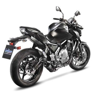 Ligne complète Leovince LV One Evo carbone Kawasaki Z650 2017