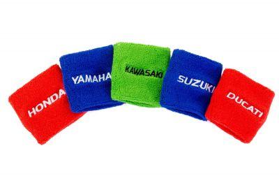 Protection de réservoir de maître-cylindre de frein bleu Yamaha