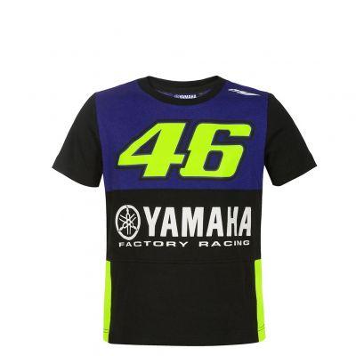 Tee-shirt enfant VR46 Valentino Rossi Yamaha Dual Racing 2019
