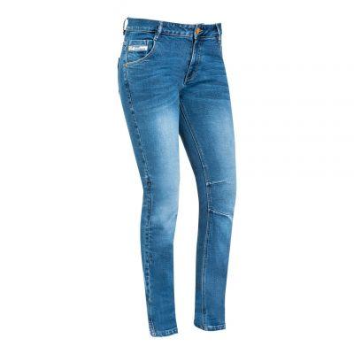 Jeans moto femme Ixon Mikki stonewash