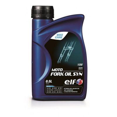 Huile de fourche Moto Fork Oil Syn ELF 100% synthèse 10w