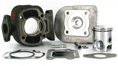 Cylindre Culasse D.40 Polini Fonte Booster AC 50 cc