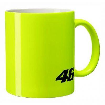 Mug VR46 Core jaune fluo