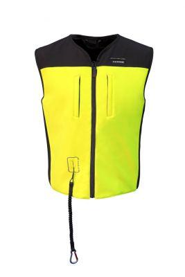 Gilet airbag Bering C-Protect Air noir/jaune fluo
