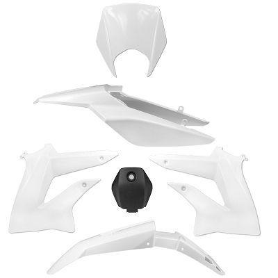Kit carénage Derbi DRD XTREME à partir de 2010 blanc