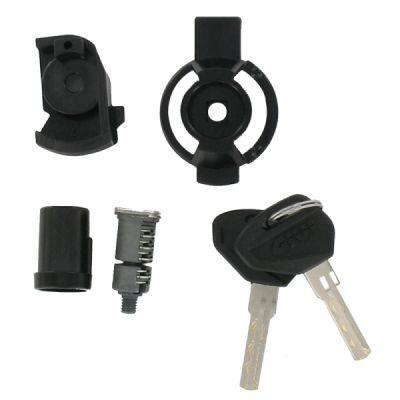 Barillet de sécurité complet avec bague et loquet Givi SL101