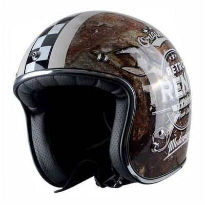 Casque jet Trendy T-102 Riper Club