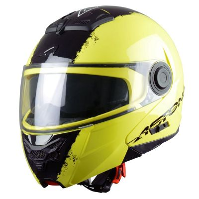 Casque Modulable Astone Rt800 Graphic Exclusive Neon jaune neon