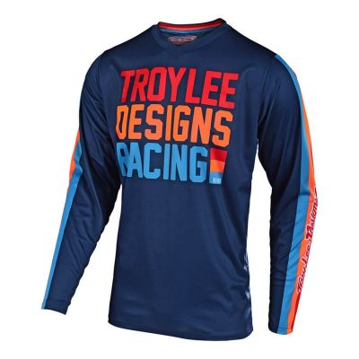 Maillot cross Troy Lee Designs GP Air Premix 86 navy