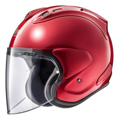 Casque jet ARAI SZ-R VAS Calm rouge