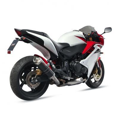 Silencieux MIVV GP carbone Honda CBR600F / CB600F Hornet 11-