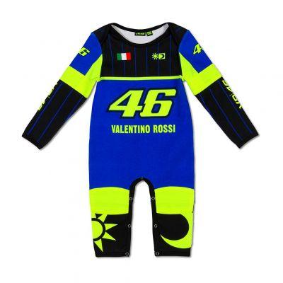 Pyjama bébé VR46 Valentino Rossi Réplica bleu 2019