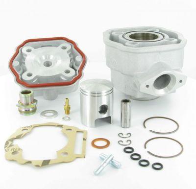 Cylindre Culasse D.40 MVT S-Race Alu Derbi Euro 3 HM3