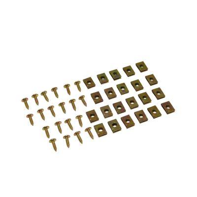 Vis + Agrafes de carrosserie (x20)