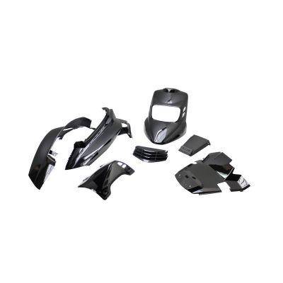 Kit carrosserie BCD V2 MBK Booster 04- noir