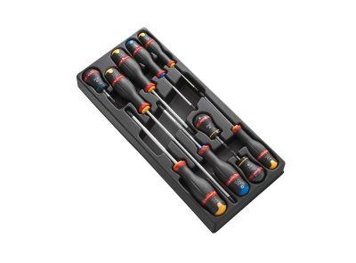 Module 10 tournevis Facom protwist® cruciformes dont 3 boules