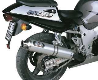 Silencieux MIVV Oval titane Suzuki GSX-R600 / R750 96-00