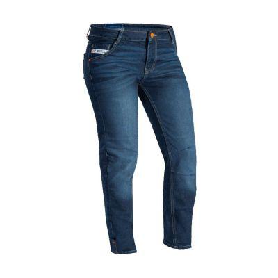 Jeans moto femme Ixon Mikki C-Sizing bleu