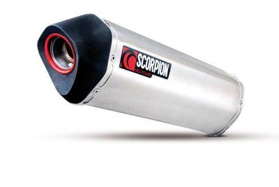Silencieux homologué Scorpion Serket inox brossé pour Honda CBF 1000 10-12