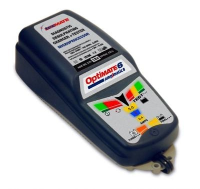 Chargeur batterie 12V Tecmate Optimate 6 Ampmatic