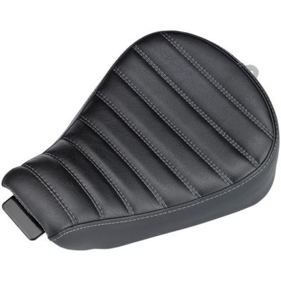 Selle Biltwell Sporty-8 Harley Davidson Sportster 10-18 noire coutures horizontales