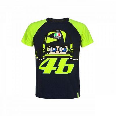 Tee-shirt enfant VR46 Valentino Rossi Sole e Luna 2019