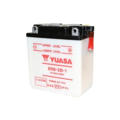 Batterie Yuasa 6N6-3B-1 6V 6Ah