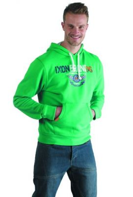 Sweat à capuche IXON Twist Vert/Blanc Adulte