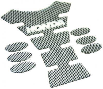 Protection de réservoir Honda carbone