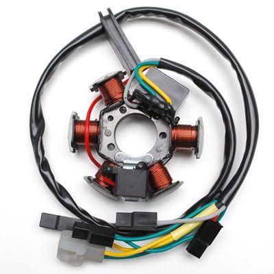 Stator d'allumage 60w avec capteur adaptable derbi senda