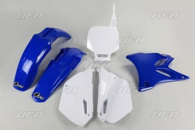 Kit plastique UFO Yamaha 85 YZ 02-14 bleu/blanc (couleur origine)